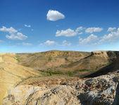 Plateau Shalkar-Nura, Kazakstan — Stock Photo