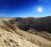 Gorge slopes of the plateau — Stock Photo
