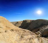 Hills of the plateau Shalkar Nura — Stock Photo