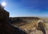 Panorama of the plateau Shalkar Nura — Stock Photo