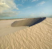 Sandy desert dune — Stock Photo