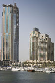 Modern buildings in Dubai — Stock Photo