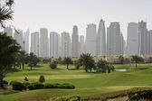 Golf in the middle east Dubai — Stock Photo