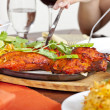Indian Food Chicken Tandori — Stock Photo