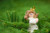 Christmas decoration angel — Stock Photo