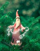 Vánoční dekorace santa claus — Stock fotografie