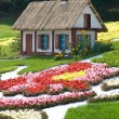 Fairytale cottage (Kiev, Ukraine, the Singing Field) — Stock Photo