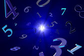 Magical numbers (numerology). — Stock Photo