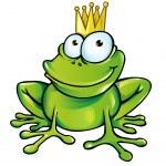 Frog prince — Stock Vector #20390123