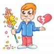 Royalty-Free Stock Vector Image: Heartbroken