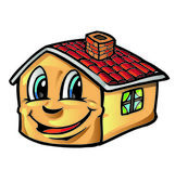 House cartoon — Stock Vector