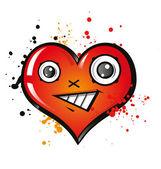 Happy heart — Stock Vector