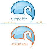 Swan project 2 — Stock Vector