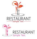 Restaurant symbol — Stock Vector