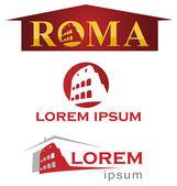 Romans symbol set — Stock Vector