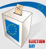European election — Stock Vector