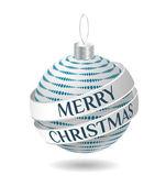 Christmas design object — Stock Vector