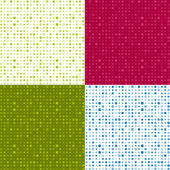 Set of seamless patterns — Stok Vektör