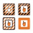 Stock Vector: Warning signs