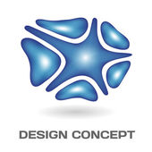 Abstract design concept — Stockvector