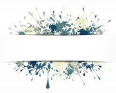 Winter background — Stok Vektör