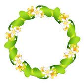 鲜花花环 — 图库矢量图片