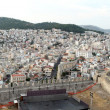 Panorama of Kavala - Stock Photo
