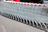 Shoppingcarts — Stock Photo
