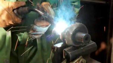 Metalworks — Stock Video
