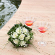 Wedding scene — Stock Photo