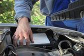 Araba tamircisi — Stok fotoğraf