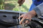 Car mechanic — Stock Photo