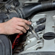 Stock Photo: Automotive, ignition coil