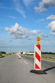 Chantier de construction de route — Photo