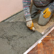 Home renovation, concrete — Stock Photo