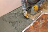 Casa renovação, concreta — Foto Stock