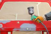 Car painting — Stock Photo