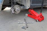 Automotive, brakes — Stock Photo