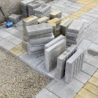 Постер, плакат: Construction site brick paver