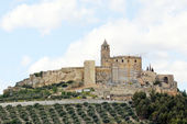 Castle of Alcala la Real — Stock Photo