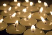 Candles group — Stock Photo