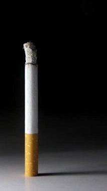 A cigarette burning — Stock video