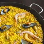 Seafood Paella — Stock Photo #34457661