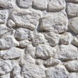 Whitewashed stone wall — Stock Photo