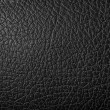 Stock Photo: Black synthetic leather