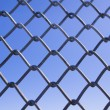 Chainlink fence — Stock Photo