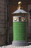 Old fashioned toilet in Stockholm — Stock Photo