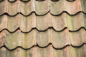 Ceramic tiles on rooftop — Stock Photo