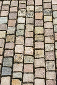 High angle view of cobble stones — Stock Photo