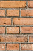 Tuğla duvar dokulu arka plan — Stok fotoğraf